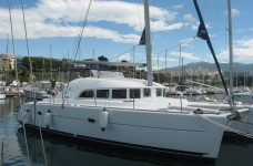 Beneteau Lagoon 380 at marina ACI Marina Split in Split.