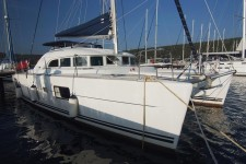 Beneteau Lagoon 380 at marina Marina Punat in Island of Krk.