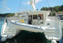 Beneteau Lagoon 400 at marina Marina Rogac in Split.