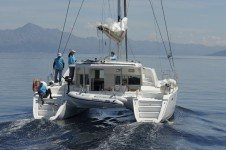 Beneteau Lagoon 440 at marina ACI Marina Split in Split.