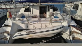 Fountaine Pajot Athena 38 at marina Marina Betina in Murter.