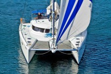 Fountaine Pajot Eleuthera 60 at marina ACI Marina Trogir in Trogir.