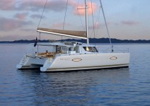 Fountaine Pajot Helia 44 at marina Marina Tankerkomerc in Zadar.