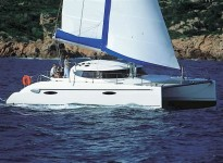 Fountaine Pajot Lavezzi 40 at marina ACI Marina Jezera in Murter.