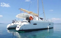 Fountaine Pajot Lipari 41 at marina Marina Punat in Island of Krk.