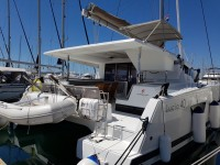 Fountaine Pajot Lucia 40 at marina Marina Kornati in Biograd na moru.