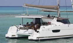 Fountaine Pajot Lucia 40 at marina Marina YC Seget in Trogir.