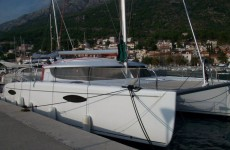 Fountaine Pajot Orana 44 at marina ACI Marina Split in Split.