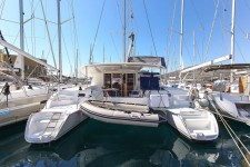 Fountaine Pajot Orana 44 at marina Marina YC Seget in Trogir.