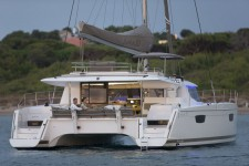 Fountaine Pajot Saba 50 at marina ACI Marina Trogir in Trogir.