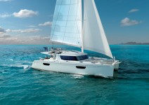 Fountaine Pajot Saba 50 at marina Marina YC Seget in Trogir.