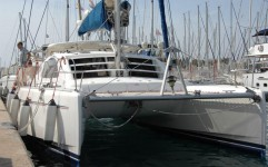 Leopard 400 at marina ACI Marina Split in Split.