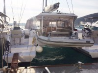 Nautitech OPEN 40 at marina Marina YC Seget in Trogir.