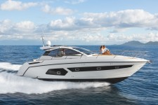 Azimut 43 HT at marina Marina Zenta in Split.