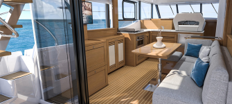 Beneteau Swift Trawler 47.