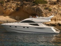 Fairline Phantom 43 at marina Marina Punat in Island of Krk.