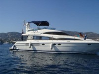 Fairline Squadron 52 at marina Marina Zenta in Split.