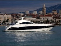 Fairline Targa 62 at marina ACI Marina Split in Split.
