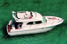Jeanneau Prestige 36 Fly at marina ACI Marina Split in Split.
