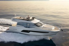 Jeanneau Prestige 520 Fly at marina ACI Marina Split in Split.