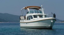 Linssen Grand Sturdy 29.9 AC at marina ACI Marina Trogir in Trogir.