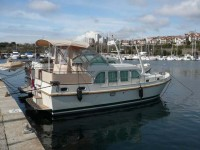 Linssen Grand Sturdy 33.9 AC at marina ACI Marina Trogir in Trogir.