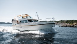 Linssen Grand Sturdy 40.9 AC at marina ACI Marina Trogir in Trogir.