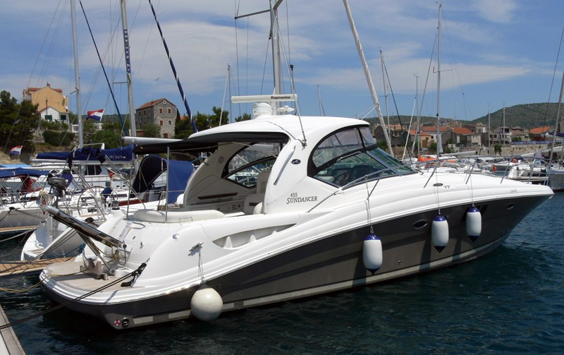 Sea Ray 455 yacht charter Croatia