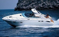 Sealine S 42 at marina Marina YC Seget in Trogir.