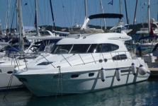 Sealine T47 at marina ACI Marina Split in Split.