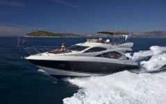 Sunseeker Manhattan 52 at marina ACI Marina Split in Split.
