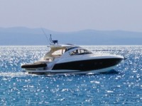 Sunseeker Portofino 47 at marina ACI Marina Split in Split.