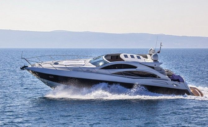 Sunseeker Predator 62 Luxury Crewed Motor Yacht Charter Croatia