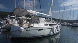 Bavaria 33 Cruiser at marina Marina Punat in Island of Krk.