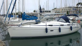 Bavaria 37 Cruiser at marina ACI Marina Split in Split.