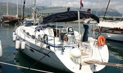 Bavaria 39 cruiser at marina Marina Spinut in Split.