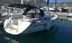 Bavaria 39 cruiser at marina Marina YC Seget in Trogir.