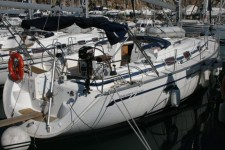 Bavaria 42 Cruiser at marina ACI Marina Trogir in Trogir.
