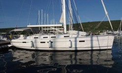 Bavaria 45 Cruiser at marina Marina Punat in Island of Krk.