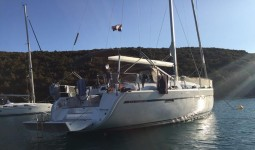 Bavaria 46 Cruiser at marina Marina YC Seget in Trogir.