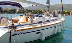 Bavaria 46 Cruiser at marina ACI Marina Trogir in Trogir.