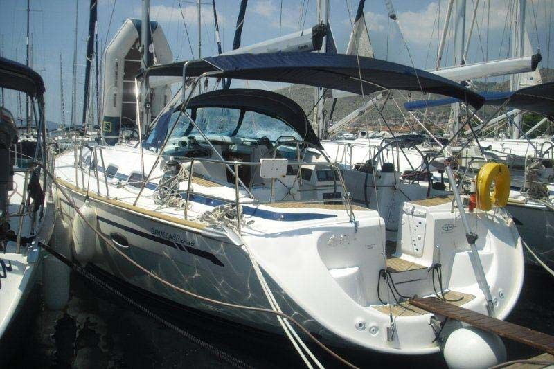 bavaria 46 yacht charter on Adriatic