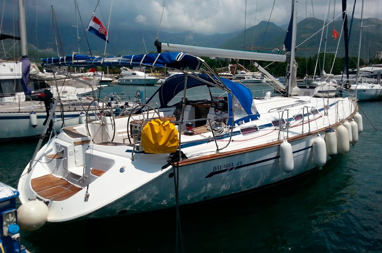 elan 45 rena a yacht on adriatic