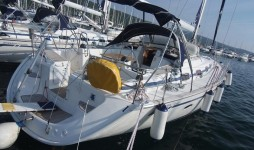 Bavaria 50 Cruiser at marina Marina Punat in Island of Krk.