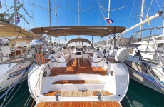 Bavaria 51 Cruiser at marina Marina YC Seget in Trogir.