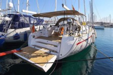 Bavaria 51 Cruiser at marina ACI Marina Trogir in Trogir.