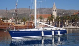 Beneteau 50 at marina ACI Marina Split in Split.