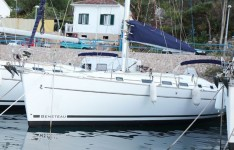 Beneteau Cyclades 43.4 at marina Marina Rogac in Split.