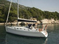 Beneteau Cyclades 43.4 at marina ACI Marina Split in Split.