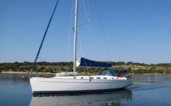 Beneteau Cyclades 50.5 at marina Marina Rogac in Split.